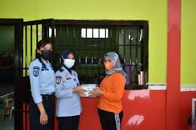 Warga Binaan Lapas Perempuan kelas IIB Jambi Wajib pakai Masker saat Beraktivitas