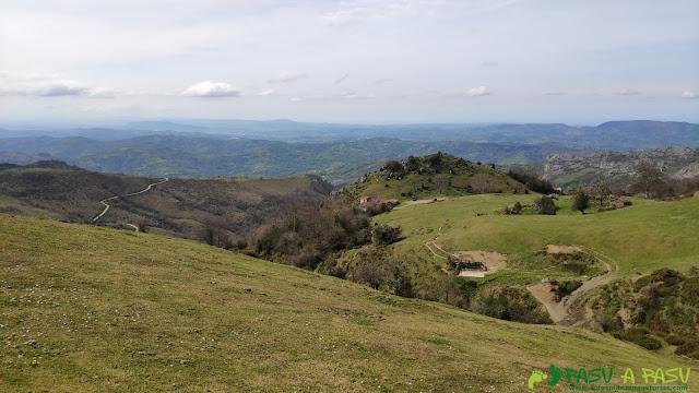 Vista de la Campa Gües