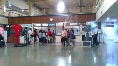 Terminal doméstica aeropuerto Yangon