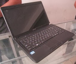 jual laptop 2nd toshiba c640