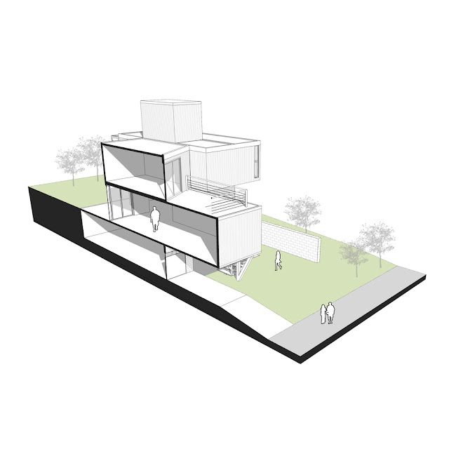Casa Conteiner RD - 350 sqm Two Story Shipping Container Home, Brazil 43