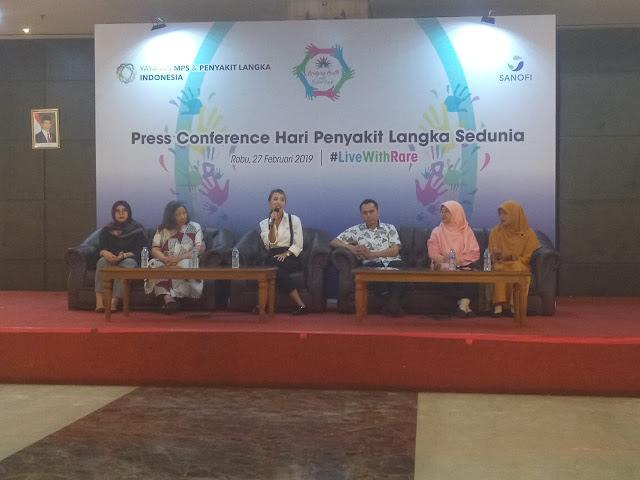 Dukungan pemerintah Indonesia terhadap anak penderita penyakit langka