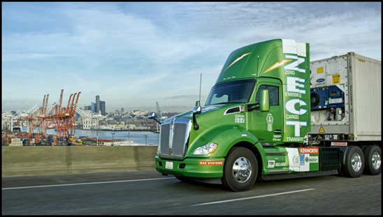 Zero Emission Kenworth T680