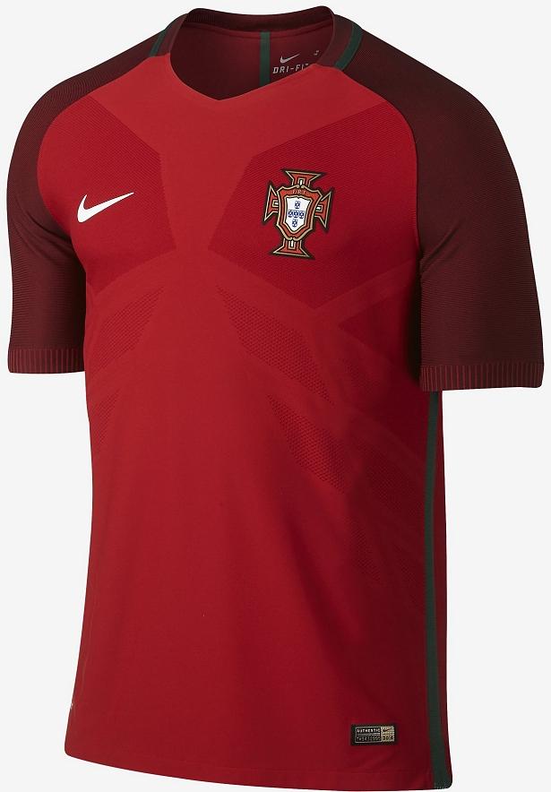 Nike divulga as novas camisas de Portugal - Show de Camisas 34661adb1a015