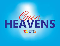 OPEN HEAVEN FOR TEENS 19 JULY 2020 SUNDAY: EATING TO DIE? 1