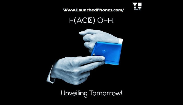 too Blue colors are launched for this scream upward Micromax Yu Ace launched inwards entry segment