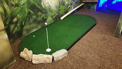 Mini Golf at the Palace Fun Centre in Rhyl
