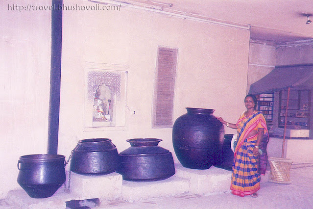 Burial urns at National Crafts Museum New Delhi