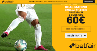 betfair supercuota liga Real Madrid gana Atletico 1 febrero 2020