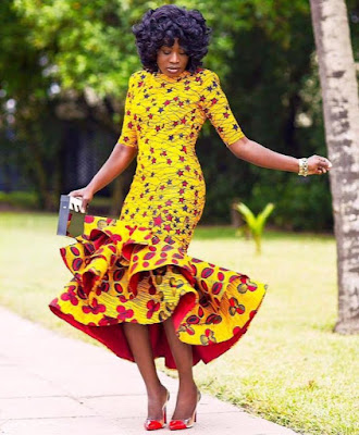 Latest Customized Trending Ankara Gowns Latest Ankara Styles