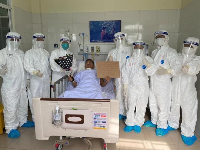 Một người mắc Covid-19 tiên lượng nặng ở Đà Nẵng khỏi bệnh