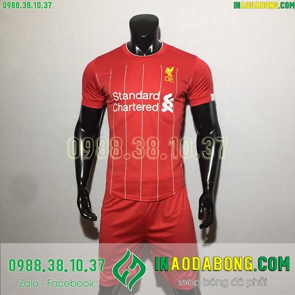 Áo bóng đá câu lạc bộ Liverpool 2020 màu đỏ