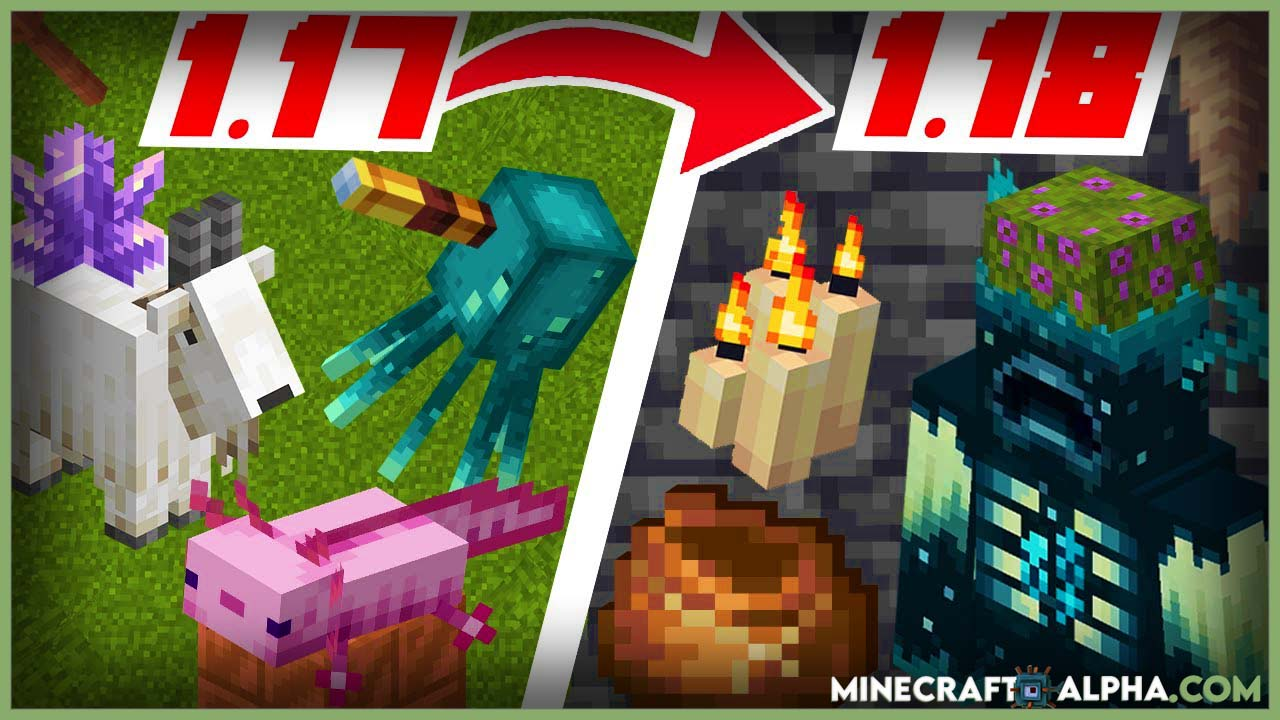 Minecraft 1.18 update release for Bedrock, Java And Pocket Edition