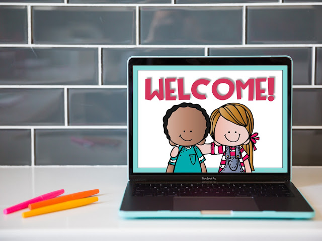 Free back to school PowerPoint template!