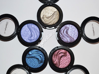 MAC Extra Dimension Eyeshadows Review & Swatches (Part 2)