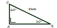 Rumus Perbandingan Sisi-Sisi Pada Segitiga Siku-Siku dengan Sudut 30° dan 60°