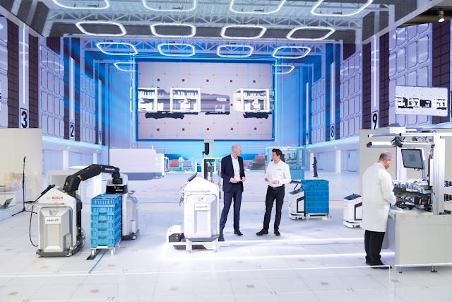 Bosch antecipa que futuro das fábricas passa pela conectividade - Industria 4.0 - vendas crescem 25 por cento