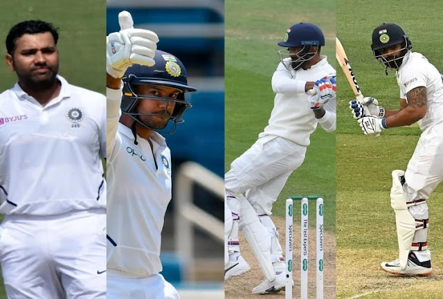 Whose climb will be done, in which order Rohit Sharma will play, who will be out of Vihari-Mayank?