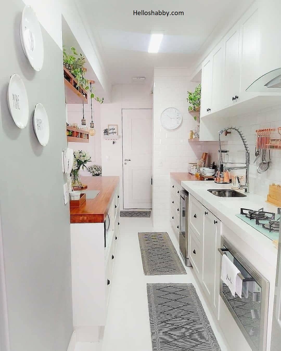 Renovasi Dapur Kecil Inilah 6 Desain Dapur Minimalis Modern Yang Lagi Populer Helloshabby Com Interior And Exterior Solutions