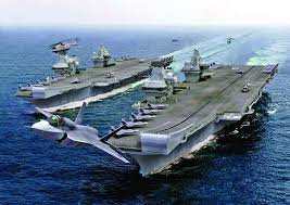 5 US destroyers and aircraft carrier carrying 90 warplanes heading to Syria