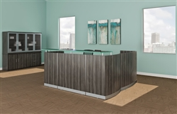 Mayline Medina Reception Desks at OfficeFurnitureDeals.com