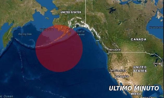 Un Terremoto con aviso de tsunami golpea Alaska | ULTIMO MINUTO