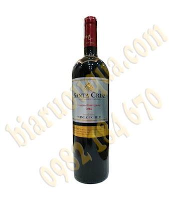 Rượu vang Santa Cruz