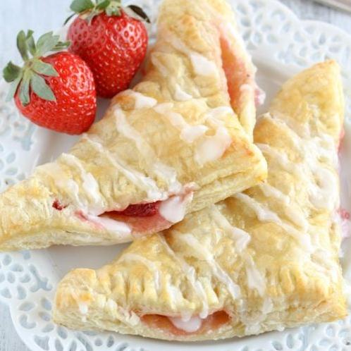 Strawberry Cream Cheese Turnover