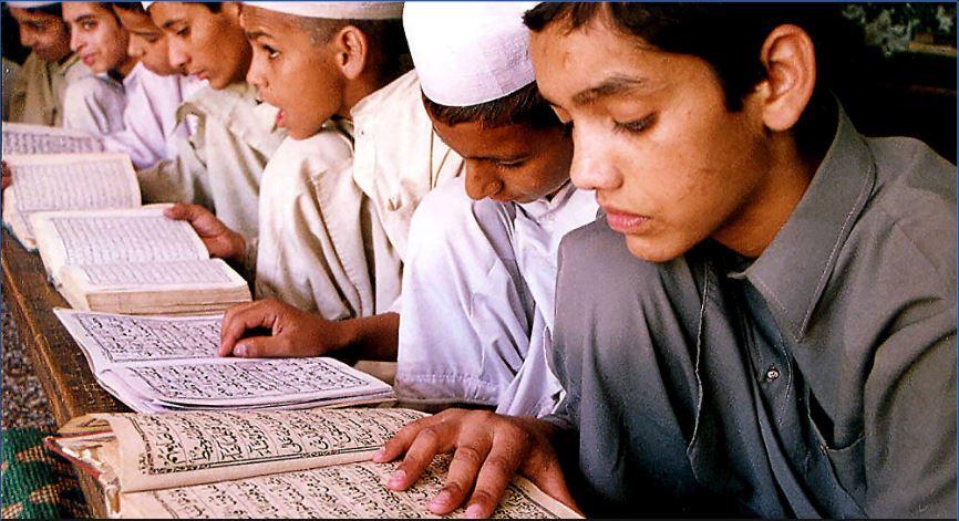 madarsa children in pakistan