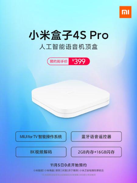 Xiaomi lança Mi Box 4S Pro