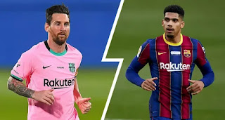Revealed: Messi and Araujo absent from pre-Sociedad training