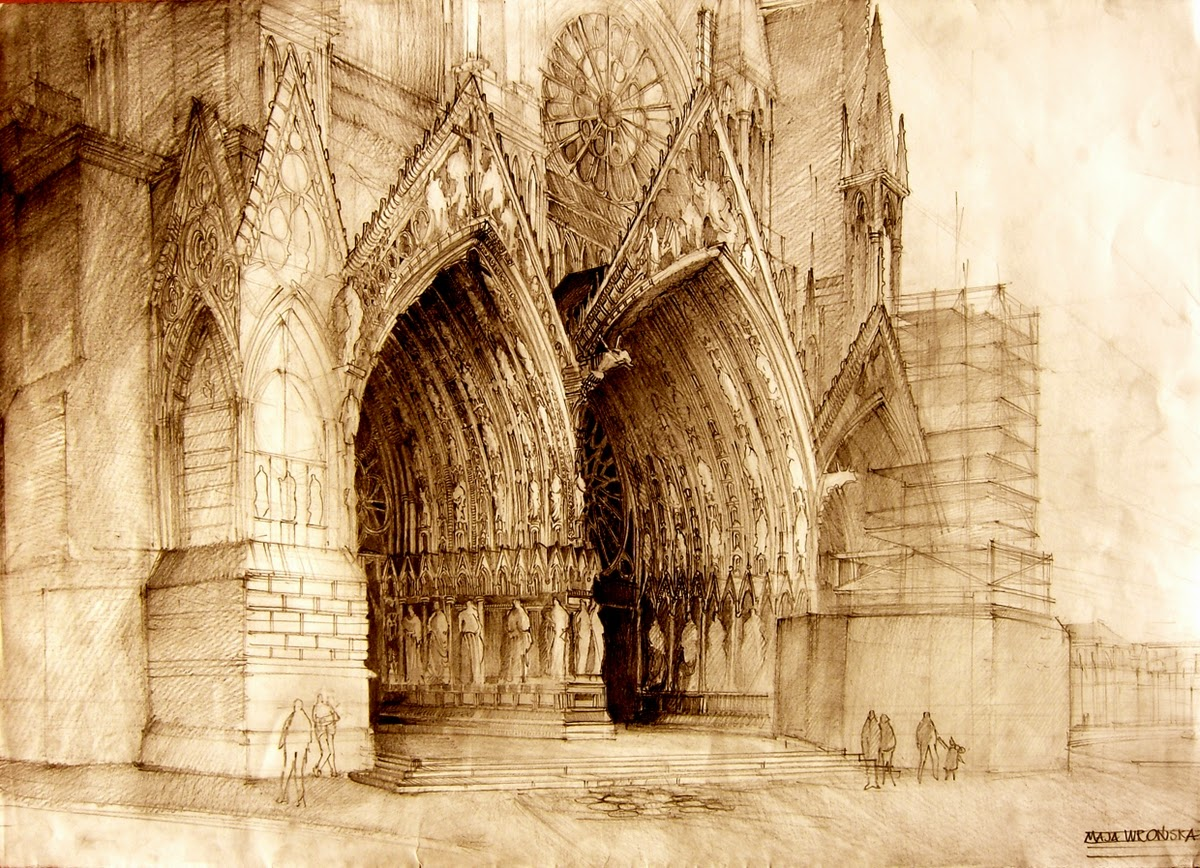 09-Maja-Wrońska-Architectural-Paintings-and-Drawing-Sketces-www-designstack-co