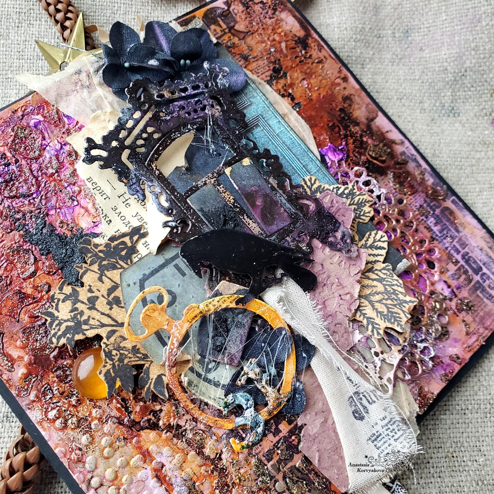 @nastyalena #cardmaking #ножиmimicut #mixedmedia