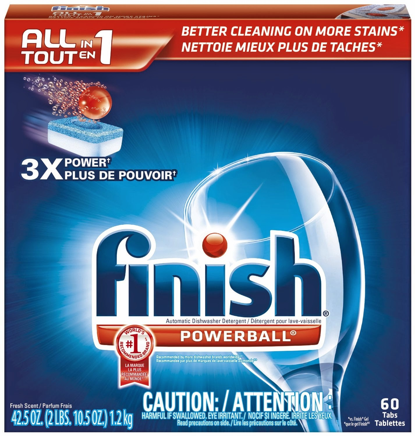 Fresh Scent Powerball Tablets