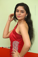 Actress Zahida Sam Latest Stills in Red Long Dress at Badragiri Movie Opening .COM 0050.JPG