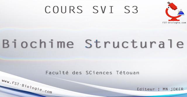 Cours de Biochimie Structurale SVI S3 pdf. Faculté des Sciences Structure et propriétés des glucides