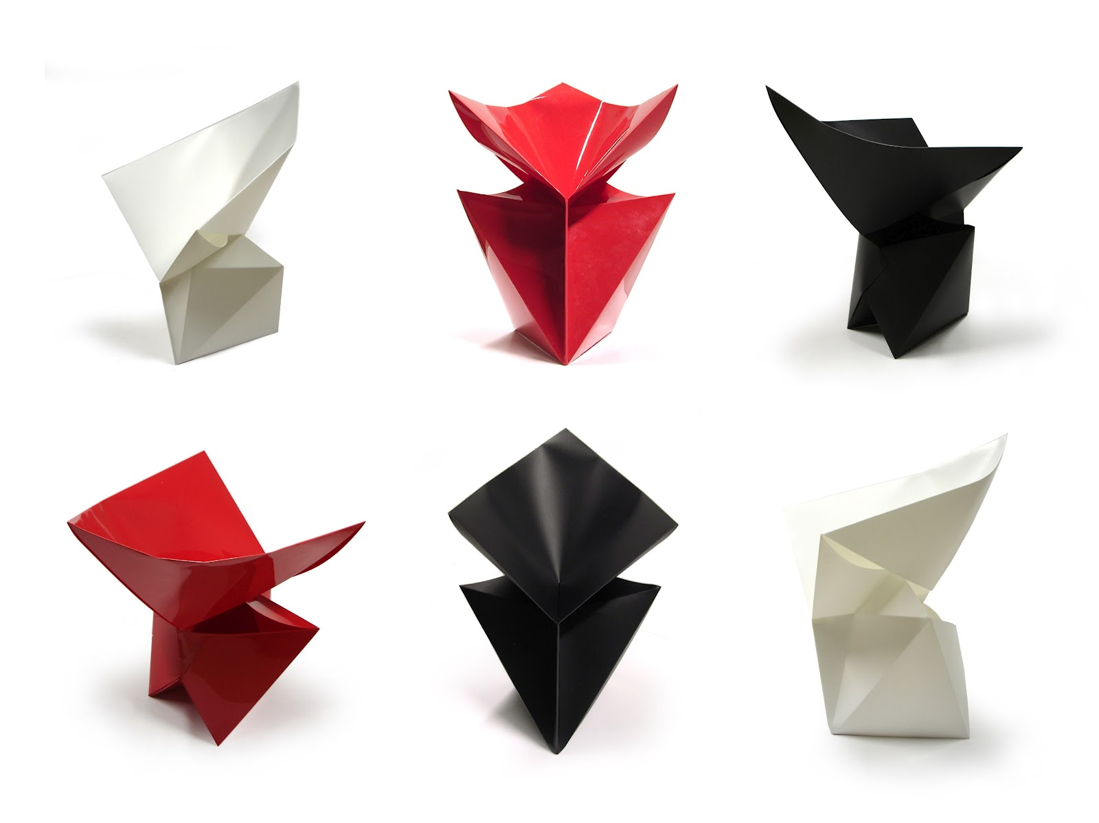 Gráinne Lyons Design Press: The Origami Influence On Furniture - photo#32