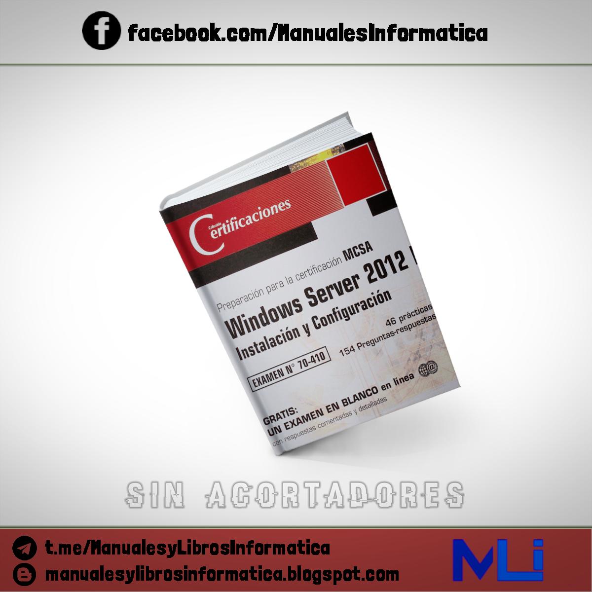 Manuales Y Libros De Informatica Windows Server 2012 R2