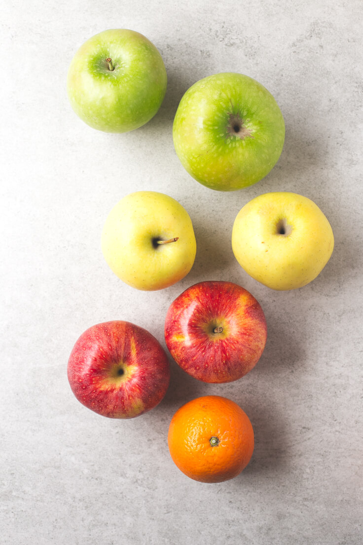 American apple cider ingredients: This apple cider is not Asturian cider but a typical North American recipe. It is a hot, sweet and very comforting drink.
