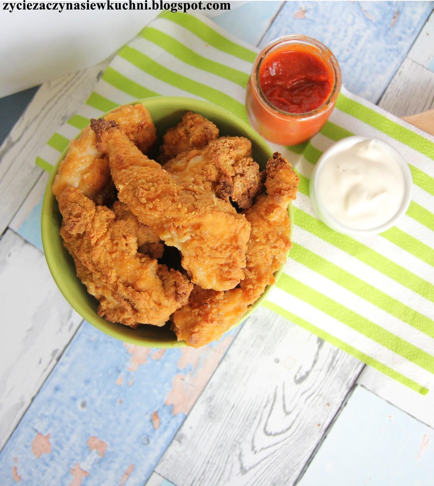 Życie Zaczyna Się W Kuchni : Nuggetsy Z Kurczaka Pieczone
