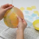 Paper Egg Diorama - Step 1
