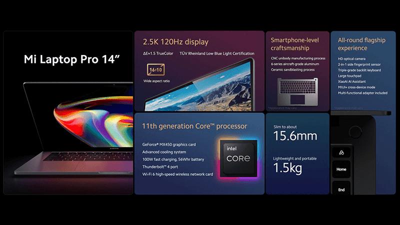 "Xiaomi Mi Laptop Pro 14"""