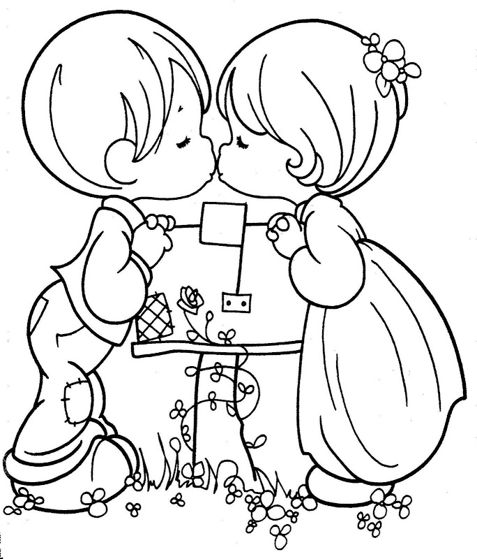 14 De Febrero Dia De San Valentin Dibujos Para Colorear