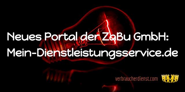 Titel: Neues Portal der ZaBu GmbH: Mein-Dienstleistungsservice.de