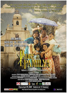 Padre De Pamilya is a story about a father Joselito Mirasol (Ariel Rivera) whose only wish is for his children to grow up as good Catholic Christians.