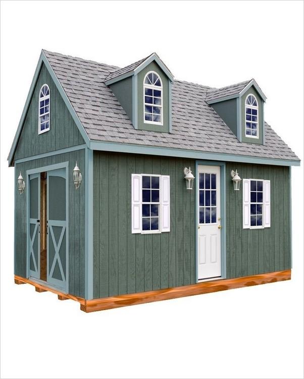 30x40 Wood Garage Kits Home Interior Exterior Decor