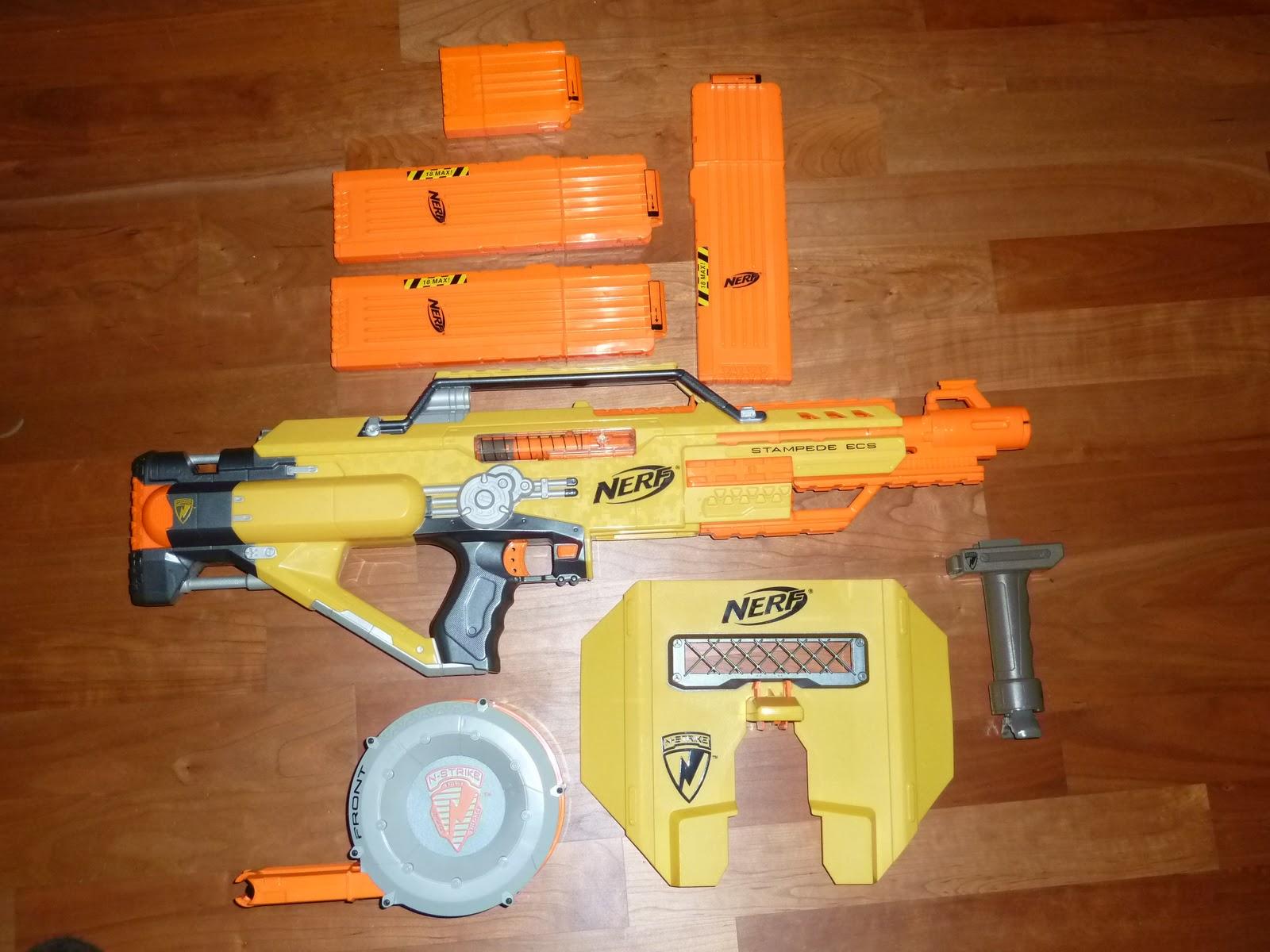 Gap Alles 252 Ber Spielzeug Waffen Die Stampede Ecs Die