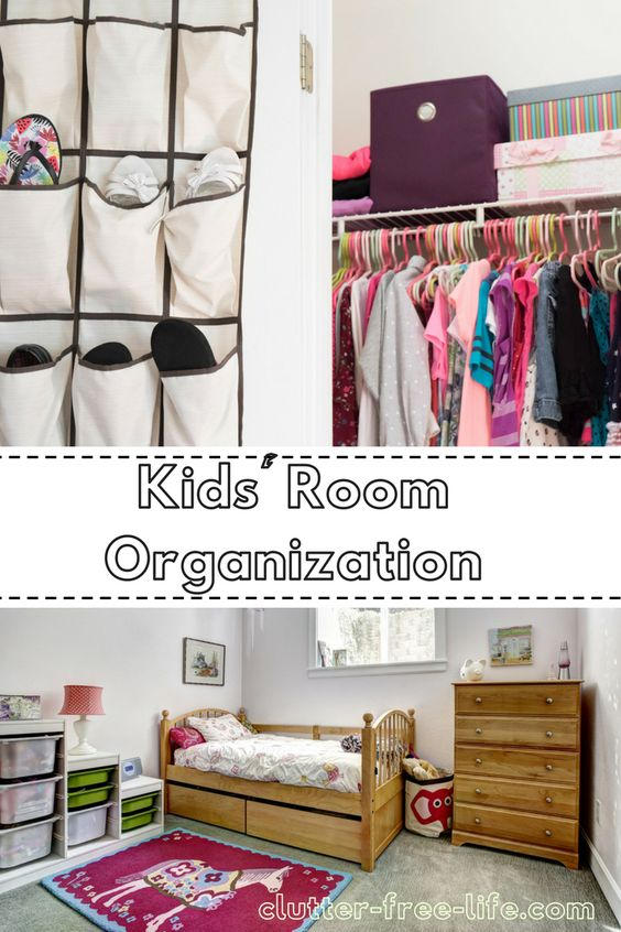 Keep their rooms clean with these kids' bedroom organization ideas