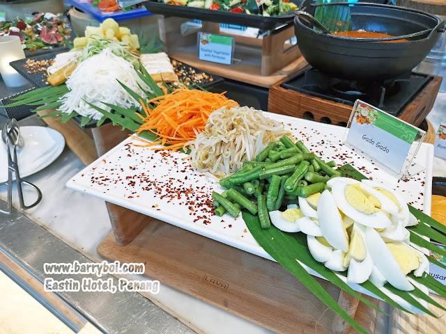 Gado Gado Salmon Buffet Penang Buffet Eastin Hotel Penang Penang Malaysia Blogger Influencer