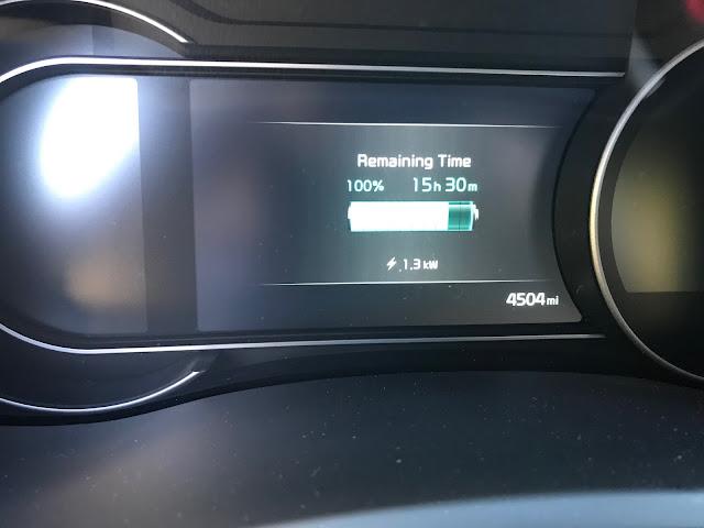 Charging a 2019 Kia Niro EV
